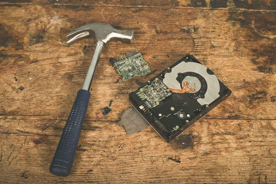Why NOT to destroy your hard drive!